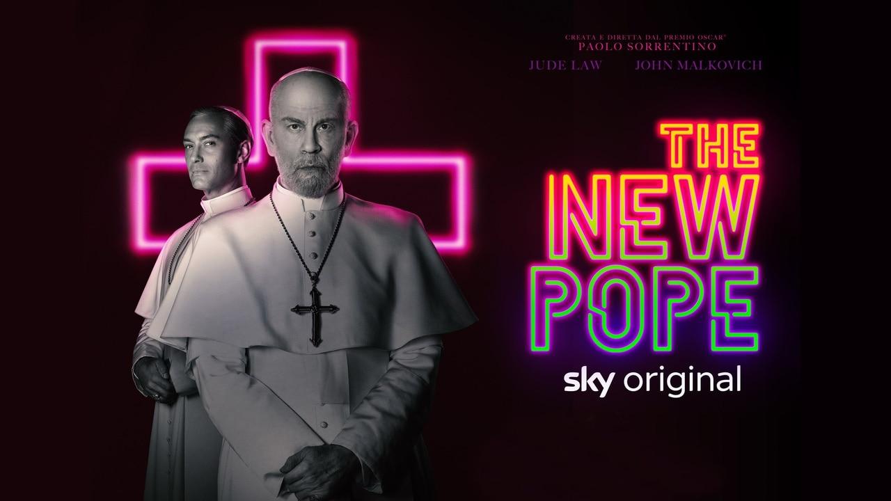 Risultati immagini per the new pope banner